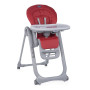 Chaise haute Chicco Polly Magic Relax Red
