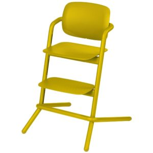 Chaise haute Cybex Lemo bois Canary Yellow