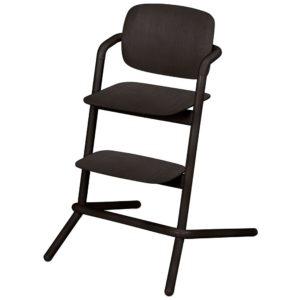 Chaise haute Cybex Lemo bois Infinity Black
