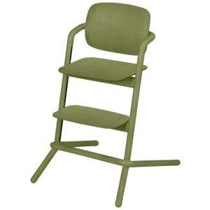 Chaise haute Cybex Lemo bois Outback Green