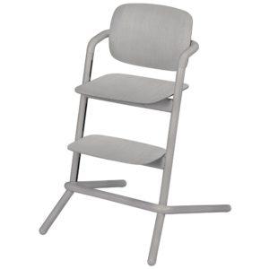 Chaise haute Cybex Lemo bois Storm Grey