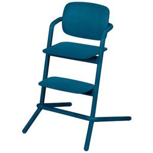 Chaise haute Cybex Lemo bois Twilight BLue