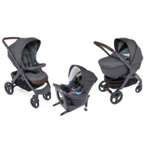Landau Chicco Trio Style Go up i-size cool grey
