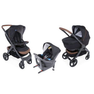 Landau Chicco Trio Style Go up i-size pure black