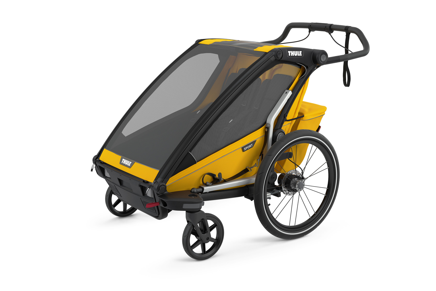 Thule Chariot Sport 2 Spectra Yellow1